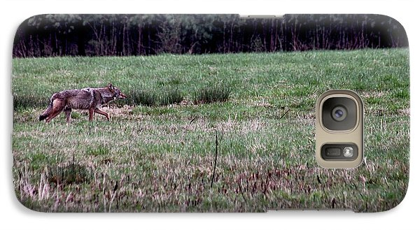 Galaxy Case featuring the photograph Coyote On The Prowl by Bruce Patrick Smith