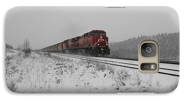 Galaxy Case featuring the photograph Cp Rail 2 by Stuart Turnbull