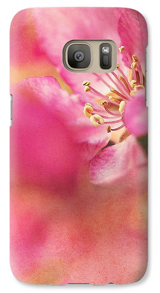 Crab Apple Blossoms II Galaxy S7 Case