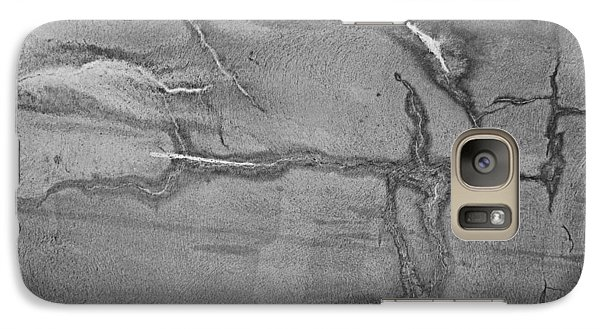 Galaxy Case featuring the photograph Cracked by Kristin Elmquist