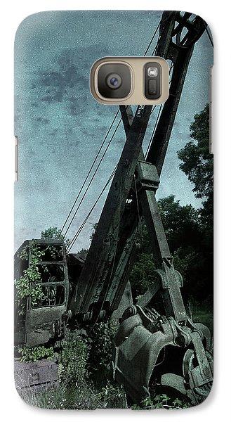 Crane Galaxy S7 Case - Crane by Jerry LoFaro