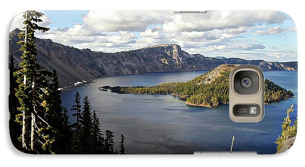 Beaver Galaxy S7 Case - Crater Lake - Intense Blue Waters And Spectacular Views by Christine Till
