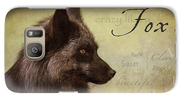 Crazy Like A Fox Galaxy S7 Case
