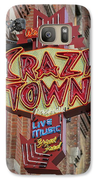 Galaxy Case featuring the photograph Crazy Town by Stephen Stookey