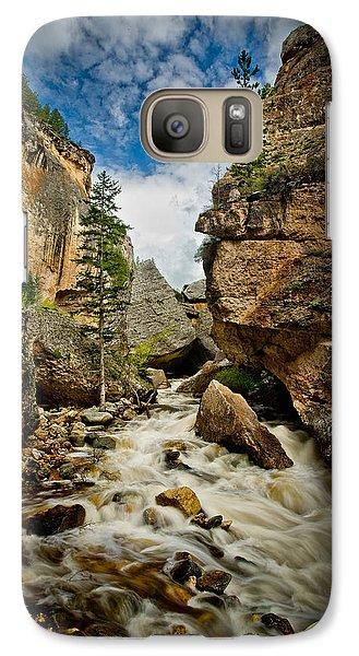 Crazy Woman Canyon Galaxy S7 Case