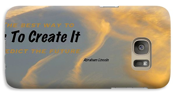 Galaxy Case featuring the photograph Create Greatness by David Norman