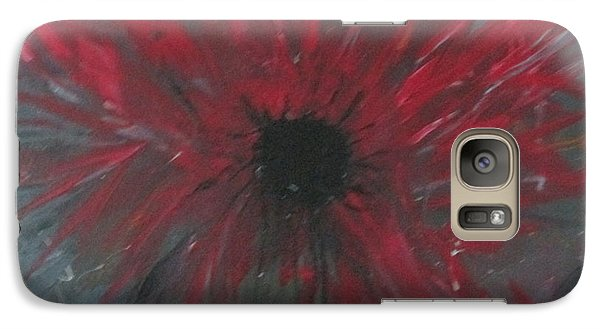Galaxy Case featuring the painting Creation Crying by Sharyn Winters