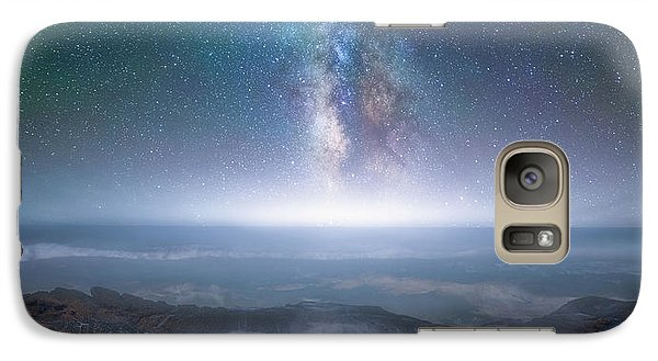 Galaxy Case featuring the photograph Creation by Darren White