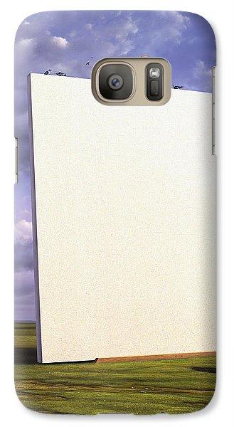 Pigeon Galaxy S7 Case - Creative Problems by Jerry LoFaro