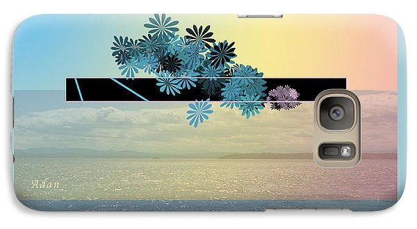 Galaxy Case featuring the photograph Creativity And Awareness In Yoga by Felipe Adan Lerma