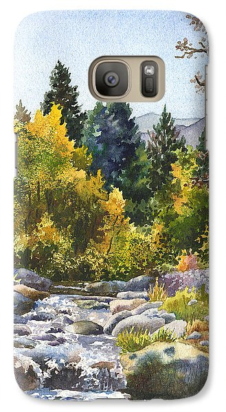 Galaxy Case featuring the painting Creek At Caribou by Anne Gifford