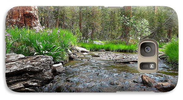 Galaxy Case featuring the photograph Creekside by Paul Foutz