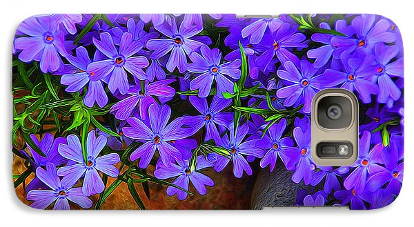 Galaxy Case featuring the photograph Creeping Phlox 1 by Dennis Lundell