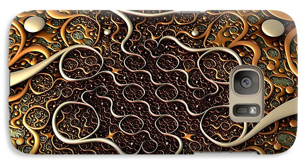 Galaxy Case featuring the digital art Creepy Crawlers by Lyle Hatch
