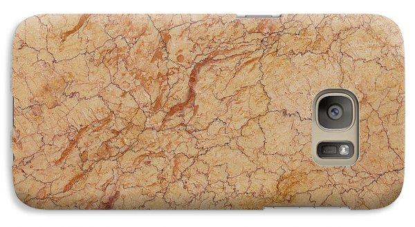 Crema Valencia Granite Galaxy S7 Case by Anthony Totah