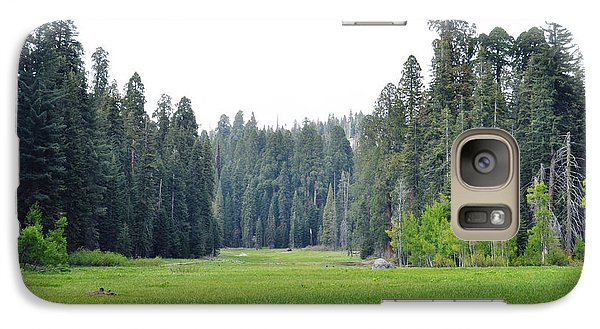 Galaxy Case featuring the photograph Crescent Meadow by Kyle Hanson