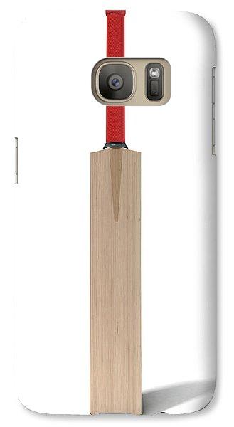 Cricket Bat Galaxy S7 Case by Allan Swart