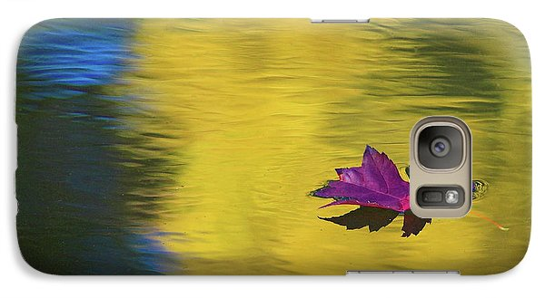 Galaxy Case featuring the photograph Crimson And Gold by Steve Stuller