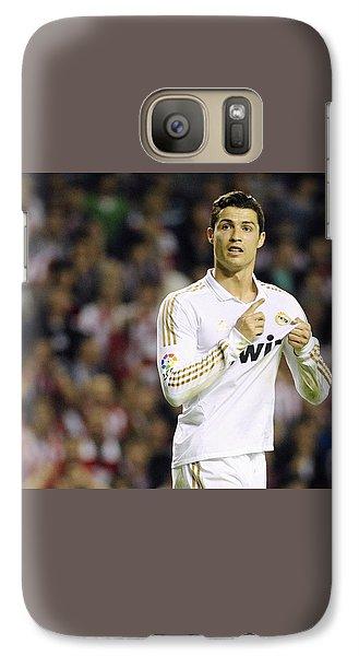 Cristiano Ronaldo 4 Galaxy S7 Case by Rafa Rivas