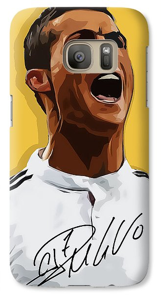 Cristiano Ronaldo Cr7 Galaxy Case by Semih Yurdabak
