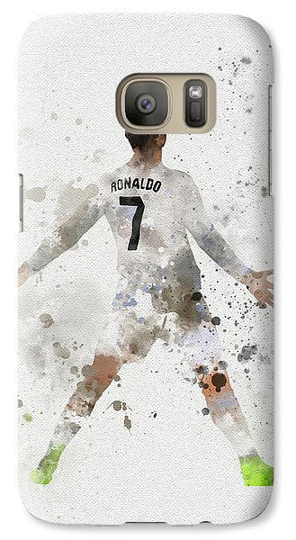 Cristiano Ronaldo Galaxy Case by Rebecca Jenkins