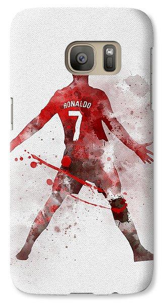 Cristiano Ronaldo United Galaxy S7 Case