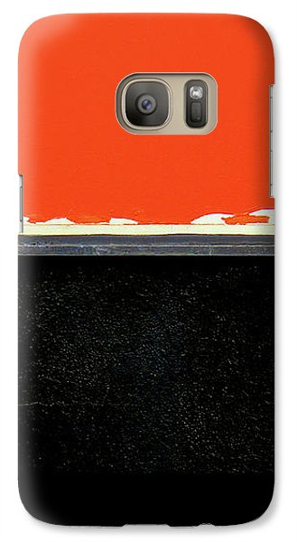 Galaxy Case featuring the photograph Crooked by Ethna Gillespie