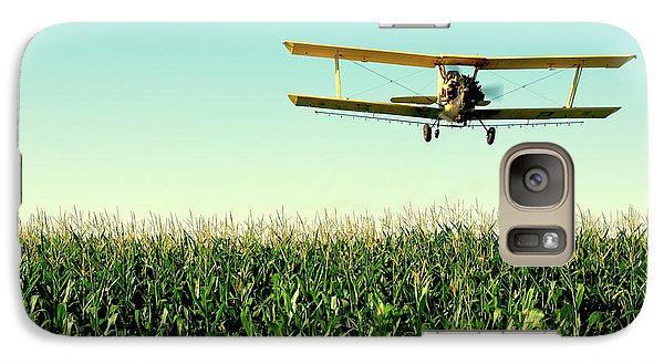 Airplanes Galaxy S7 Case - Crops Dusted by Todd Klassy
