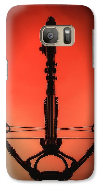 Galaxy Case featuring the photograph Crossbow by Tim Nichols
