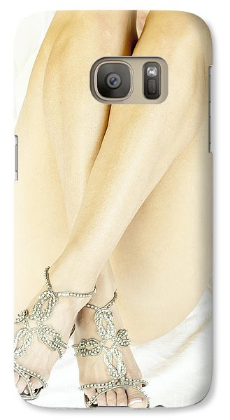 Galaxy Case featuring the photograph Crossed by Marat Essex