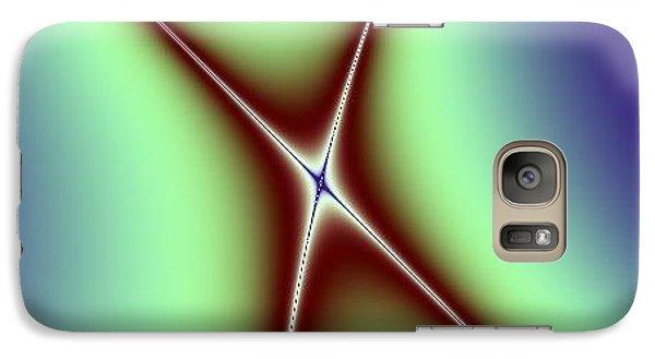 Galaxy Case featuring the digital art Crossing II by Dragica  Micki Fortuna