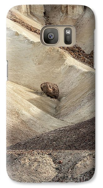 Galaxy Case featuring the photograph Crossing Paths - Death Valley by Sandra Bronstein