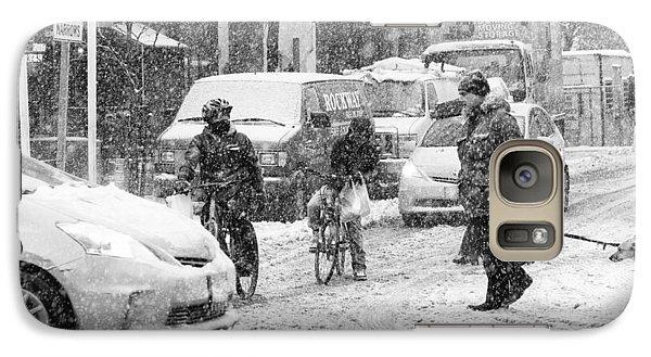 Crosswalk In Snow Galaxy S7 Case