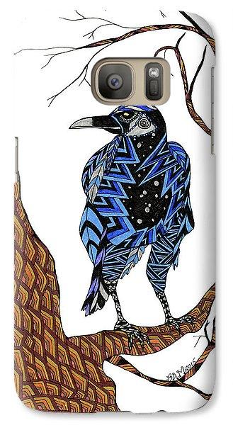 Crow Galaxy S7 Case