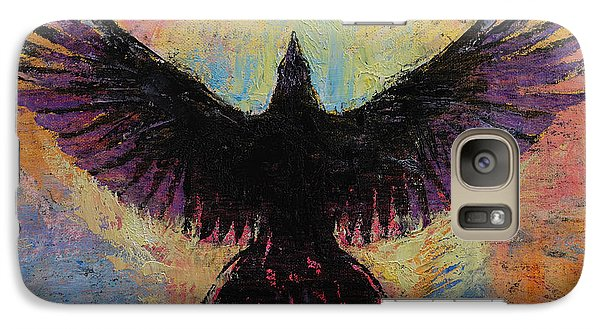 Crow Galaxy S7 Case by Michael Creese