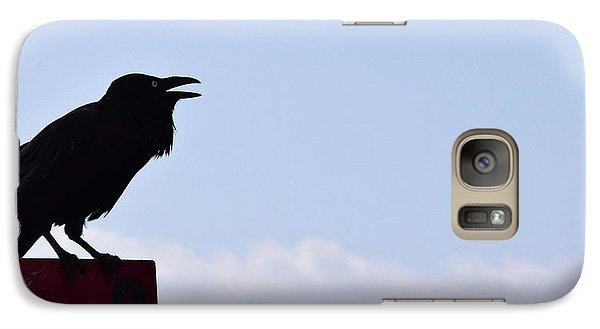 Crow Profile Galaxy S7 Case