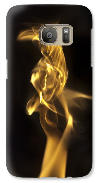 Galaxy Case featuring the photograph Aves by Steven Poulton