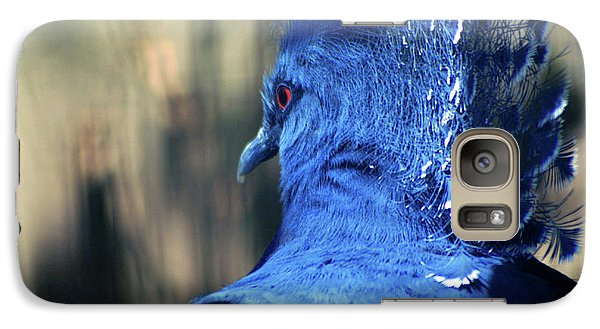 Galaxy Case featuring the photograph Crowned Pigeon by Terry Cork