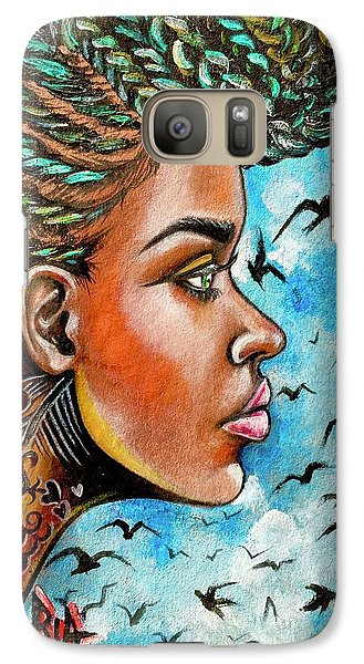 Galaxy S7 Case - Crowned Royal by Artist RiA