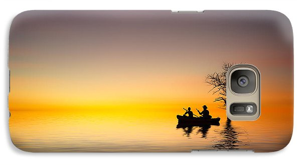Galaxy Case featuring the pyrography Cruise by Bess Hamiti