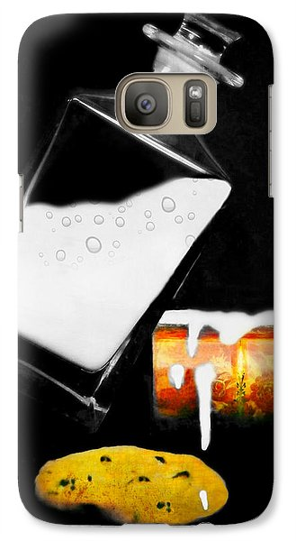 Galaxy Case featuring the photograph Crying Over Spilled Milk by Diana Angstadt