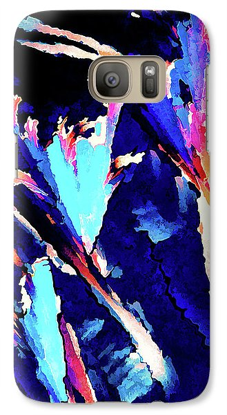 Galaxy Case featuring the digital art Crystal C Abstract by ABeautifulSky Photography