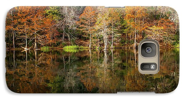 Galaxy Case featuring the photograph Crystal Clear by Iris Greenwell
