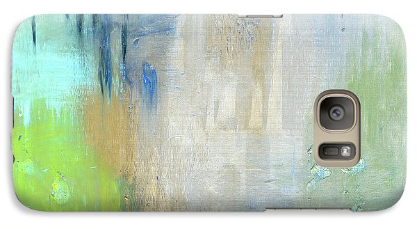 Galaxy Case featuring the painting Crystal Deep  by Michal Mitak Mahgerefteh