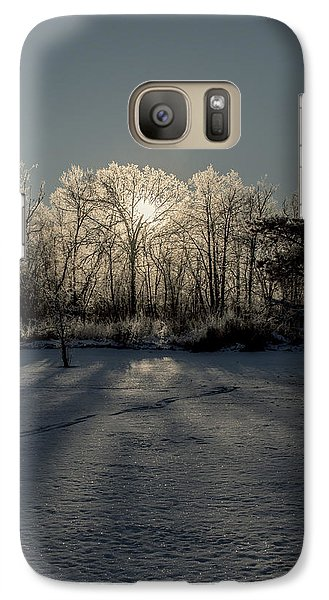 Galaxy Case featuring the photograph Crystal Glow by Annette Berglund