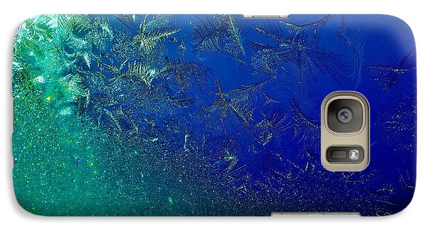 Galaxy Case featuring the photograph Crystal Sea by Danielle R T Haney