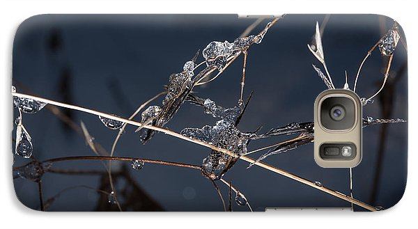 Galaxy Case featuring the photograph Crystals by Annette Berglund