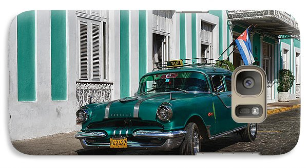 Galaxy Case featuring the photograph Cuba Cars II by Juergen Klust