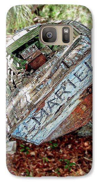 Cuban Refugee Boat 3 The Mariel Galaxy S7 Case