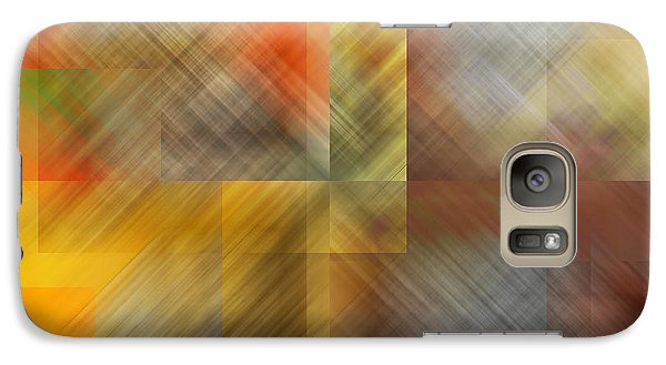 Galaxy Case featuring the photograph Cubic Space by Mark Greenberg
